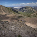 view from the toiyabe crest trail, a section of the basin and range trail