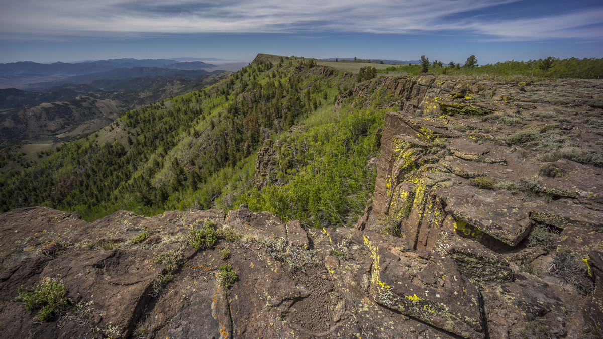 Basin And Range Trail - Table Mountain Wilderness